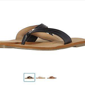 Black Report Sofie Sandals/ Flip-flops